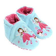 Buy Totes Baby Fairy Slipper Socks, Blue/Pink Online at johnlewis.com