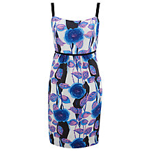 Buy Havren Combo Silk Blue Dress, Peacock Combo Online at johnlewis.com