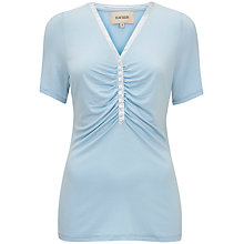Buy Havren Ruched Front Top, Crystal Blue Online at johnlewis.com
