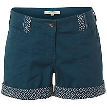 Buy White Stuff Sand Castle Shorts, Ocean Teal Online at johnlewis.com