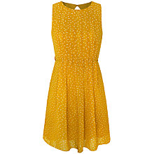 Buy Paisie Printed Dress, Mustard Online at johnlewis.com