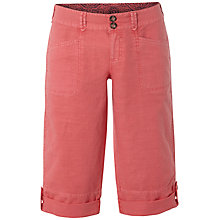 Buy White Stuff Summers Day Crop Shorts, Calypso Coral Online at johnlewis.com