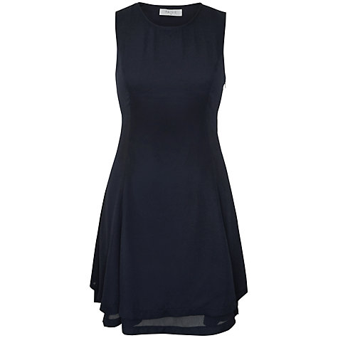 Buy Paisie Double Layer Dress, Black Online at johnlewis.com