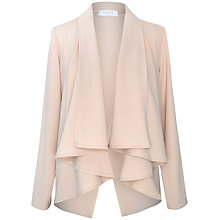 Buy Paisie Drape Jacket, Pale Pink Online at johnlewis.com