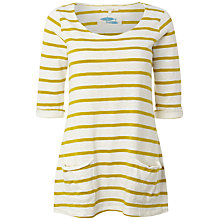 Buy White Stuff Chesil T-Shirt, Zesty Lemon Online at johnlewis.com