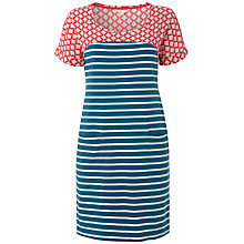 Buy White Stuff Marita Dress, Ocean Teal Online at johnlewis.com