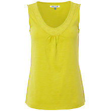 Buy White Stuff Stella Vest, Zesty Lemon Online at johnlewis.com