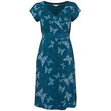 Buy White Stuff Lily Butterfly Dress, Ocean Teal Online at johnlewis.com