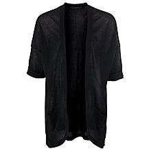 Buy French Connection Oversized Cardigan, Black Online at johnlewis.com