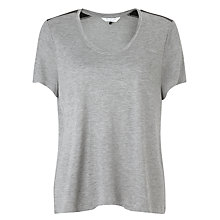 Buy COLLECTION by John Lewis Scoop Neck Short Sleeved Top Online at johnlewis.com