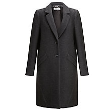 Buy COLLECTION by John Lewis Textured Coat, Grey Online at johnlewis.com