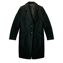 Buy COLLECTION by John Lewis Textured Wool Coat, Black Online at johnlewis.com