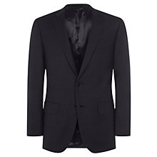 Buy Aquascutum Pick & Pick Wool Jacket, Navy Online at johnlewis.com
