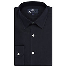 Buy Aquascutum Holt Linen Shirt, Navy Online at johnlewis.com