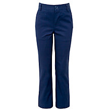 Buy Kin by John Lewis Boys' Chino Trousers, Blue Online at johnlewis.com