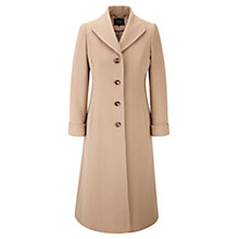 Buy Viyella Camel A-Line Coat, Camel Online at johnlewis.com
