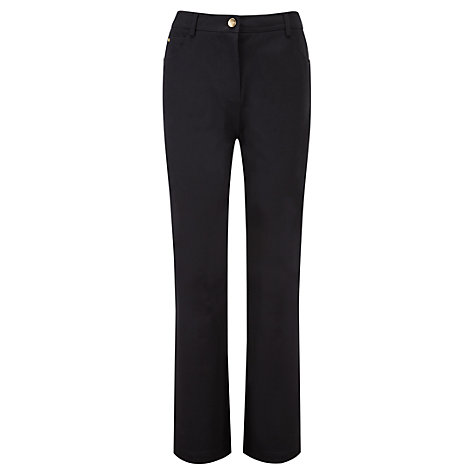 Buy Viyella Smart Jeans Long, Black Online at johnlewis.com