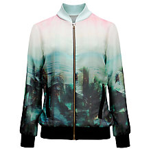 Buy Ted Baker Palm Tree Paradise Jacket, Light Pink Online at johnlewis.com