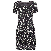 Buy French Connection Tropicana Jersey Dress, Black Multi Online at johnlewis.com