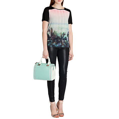 Buy Ted Baker Palm Tree Paradise T-Shirt, Light Pink Online at johnlewis.com