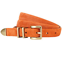 Buy Viyella Ella Suede Belt, Amaryllis Online at johnlewis.com