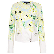 Buy French Connection Holiday Poppy Cotton Jacket, Ice Cooler Multi Online at johnlewis.com