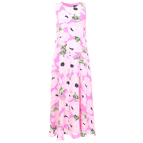 Buy French Connection Holiday Poppy Silk Maxi Dress, Spring Break Online at johnlewis.com