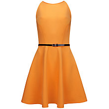 Buy Ted Baker Flared Dress, Tangerine Online at johnlewis.com