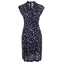 Buy French Connection Belle Wrap Dress, Nocturnal Online at johnlewis.com