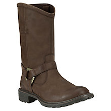 Buy Timberland Stoddard Biker Calf Boots Online at johnlewis.com