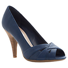 Buy Dune Celest Peep toe Court Leather Shoes Online at johnlewis.com