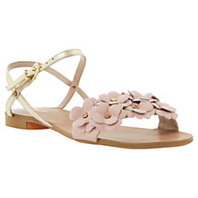 Buy Dune Junipa Front Flower Detail Sandals Online at johnlewis.com