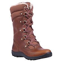 Buy Timberland Mount Hope Lace Up Calf Boots, Tobacco Online at johnlewis.com