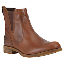 Buy Timberland Savin Hill Chelsea Boots, Brown Online at johnlewis.com