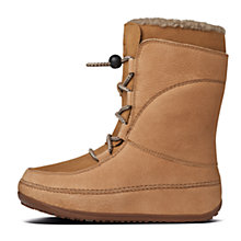 Buy FitFlop Mukluck Moc Lace Suede Boots Online at johnlewis.com