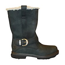 Buy Timberland Nellie Pull On Calf Boots, Black Online at johnlewis.com