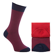 Buy John Lewis Dot Egyptian Cotton Socks, Pack of 2 Online at johnlewis.com