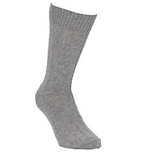 Buy John Lewis Cashmere Mix Block Socks Online at johnlewis.com
