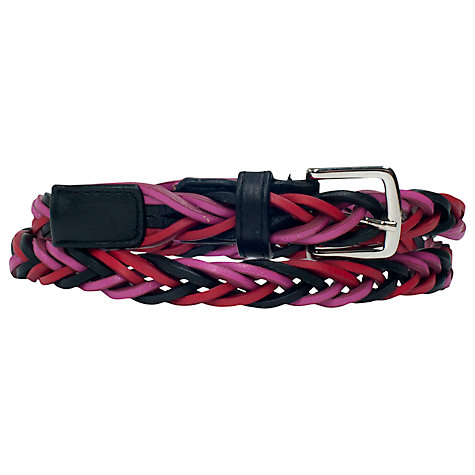 Buy French Connection Darcia Plaited Belt, Multi Online at johnlewis.com