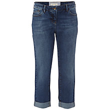 Buy White Stuff Billie Boyfriend Cropped Jeans, Mid Denim Online at johnlewis.com