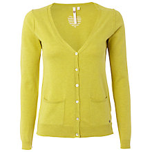 Buy White Stuff Hearty Cardigan, Zesty Lemon Online at johnlewis.com