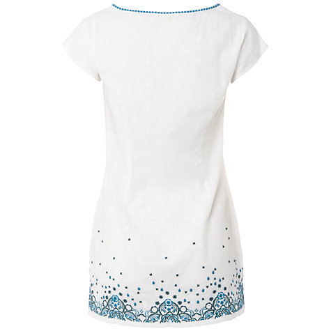 Buy White Stuff Canary Tunic, White Online at johnlewis.com