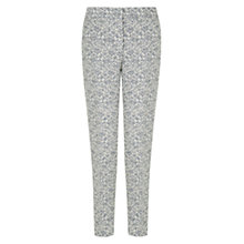 Buy Hobbs Michelle Trousers, Blue Online at johnlewis.com
