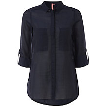 Buy White Stuff Harrow Shirt, Dark Regatta Online at johnlewis.com
