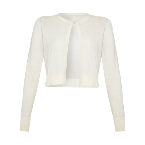 Buy Damsel in a dress Siesta Cardigan, Cream Online at johnlewis.com