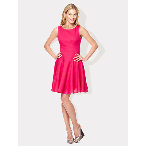 Buy Damsel in a dress Lucia Dress, Pink Online at johnlewis.com
