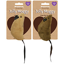 Buy Rosewood Jolly Moggy Large Mouse Cat Toy, Assorted Online at johnlewis.com
