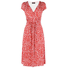 Buy Phase Eight Mosaic Dress, Poppy/White Online at johnlewis.com