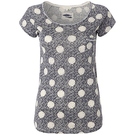 Buy White Stuff Tanaki T-Shirt, Onyx Online at johnlewis.com