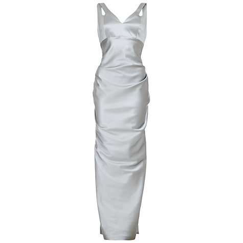 Buy Damsel in a dress Bora Bora Dress, Silver Online at johnlewis.com